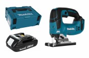 Makita DJV182Y1J 18V (1x 1,5Ah battery + MAKPAC)