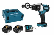 Makita DDF481RTJ 2x 5,0Ah battery