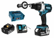 Makita DHP481RTJ 2x 5,0Ah battery