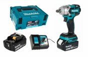 Makita DTW285RTJ 2x 5,0Ah battery