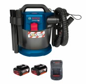 Bosch GAS 18V-10 L Professional 2x 5,0Ah battery + GAL1880