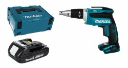 Makita DFS452Y1J 1x 1,5Ah battery