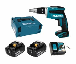 Makita DFS452RTJ 2x 5Ah battery + charger
