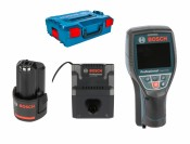 Bosch D-tect 120 Professional + 1x1,5 Ah battery + charger + L-Boxx