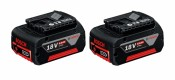 Bosch 2x battery GBA 18V 6Ah
