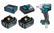 Makita DTW281RTJ/DTW285RTJ 2x 5Ah battery