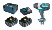 Makita DTW1001RTJ 2x 5Ah battery