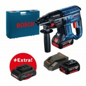 Bosch GBH 18V-20 Professional 2x 5Ah battery + ProCORE 4Ah battery