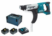 Makita DFR550RTJ 2x 5Ah battery + charger + MAKPAC