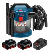 Bosch GAS 18V-10 L Professional 2x 6Ah battery + GAL1880