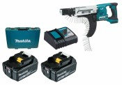 Makita DFR750RTE battery + charger