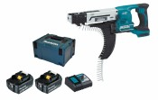 Makita DFR550RMJ 2x 4Ah battery + charger