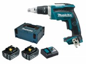 Makita DFS452RMJ 2x 4Ah battery + charger
