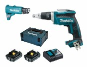 Makita DFS452AJX2 2x 2Ah battery + charger + 199146-8